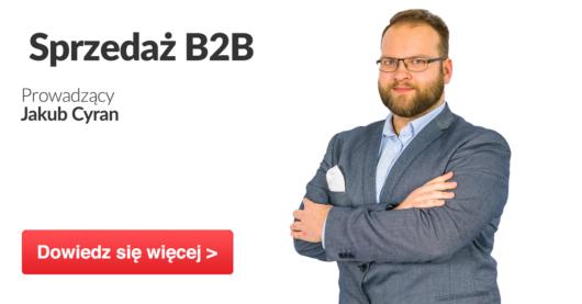 Jakub Cyran Sprzedaż B2B