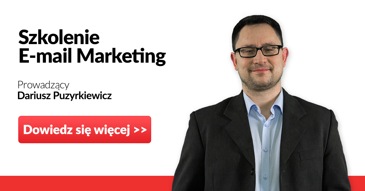 e-mail marketing szkolenie