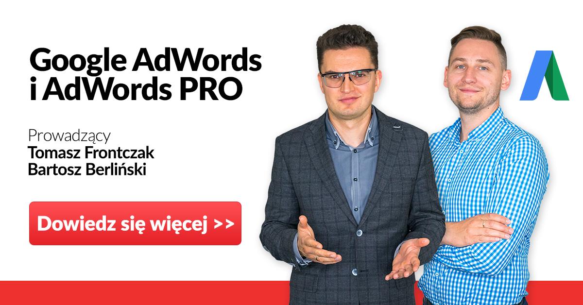 szkolenie Google Adwords PRO