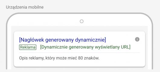 dunamicznie generowany wyświetlany URL