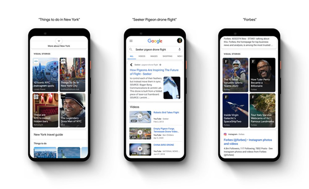 web stories google discover