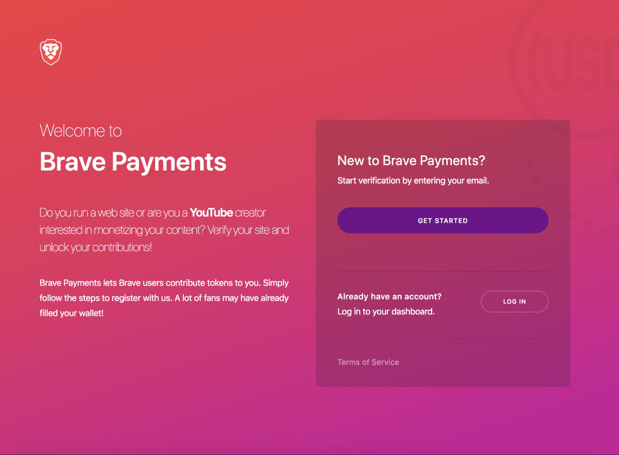 płatności w brave
