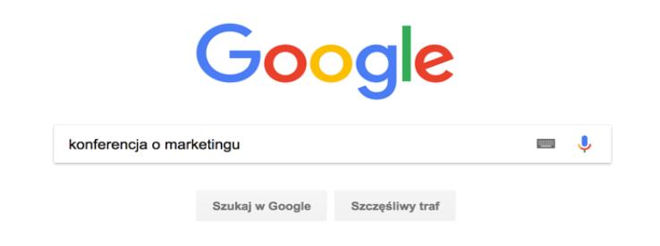 konferencja o marketingu w wyszukiwarce