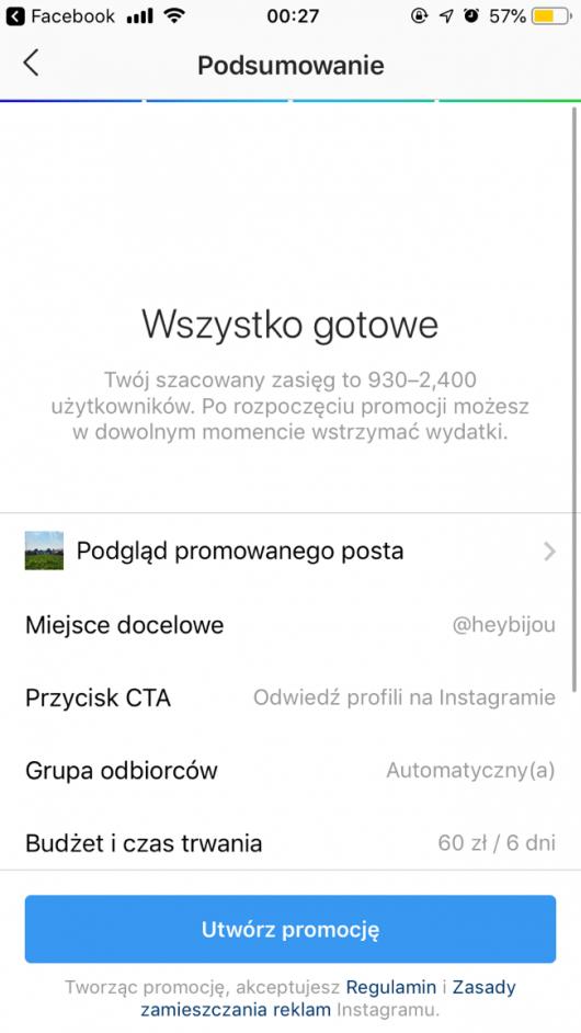 odwiedź profil na instagramie