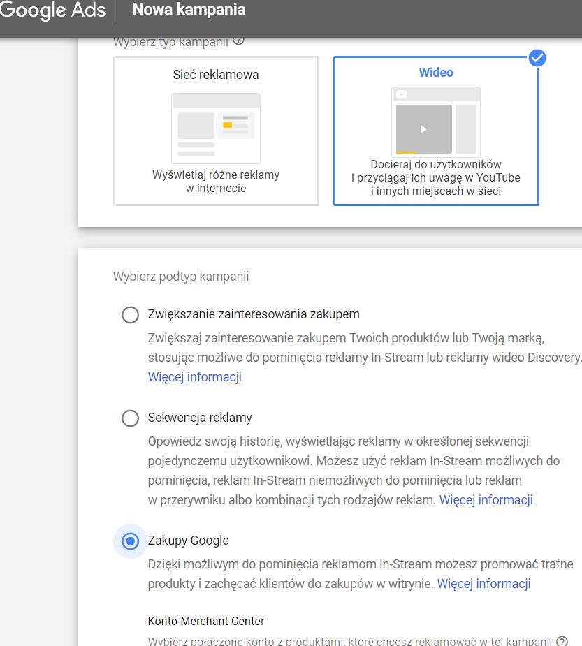 Jak stworzyć nową kampanię W Google Ads?