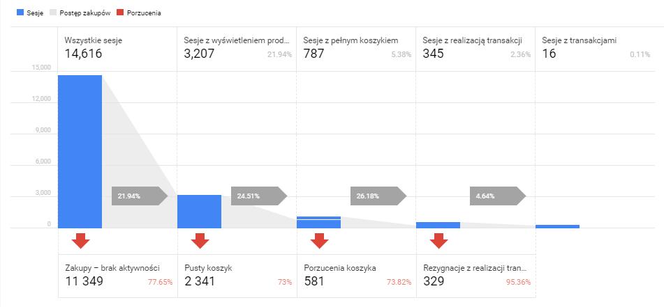 Raport z analizy zachowań zakupowych