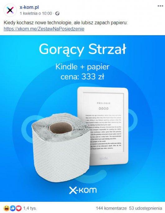 x-kom papier toaletowy