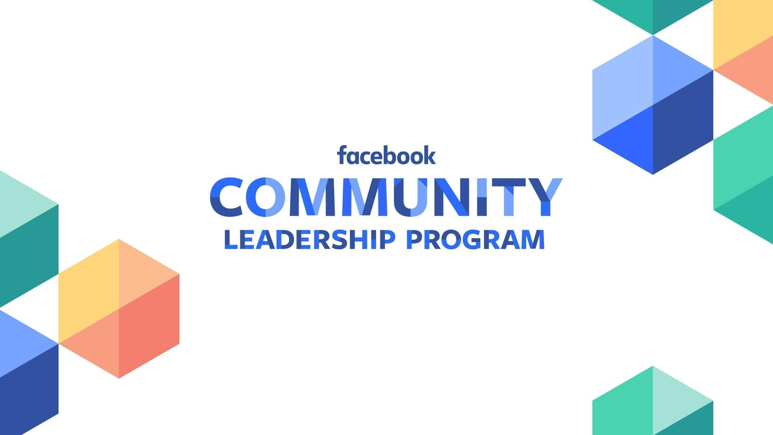 Facebook community leadrship program