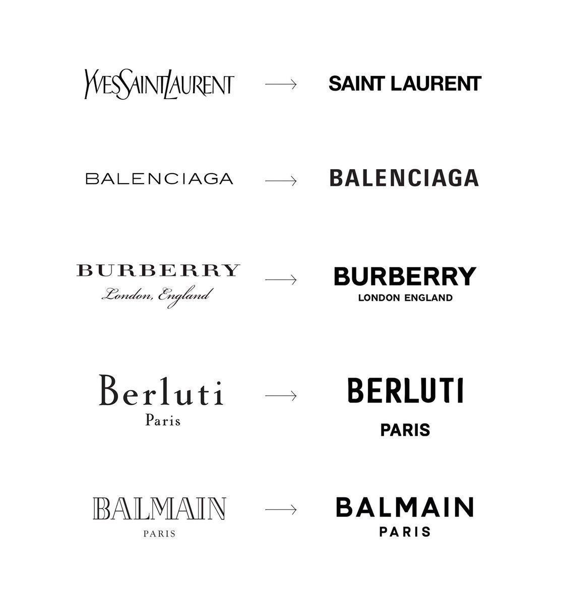 minimalistyczne logotypy
