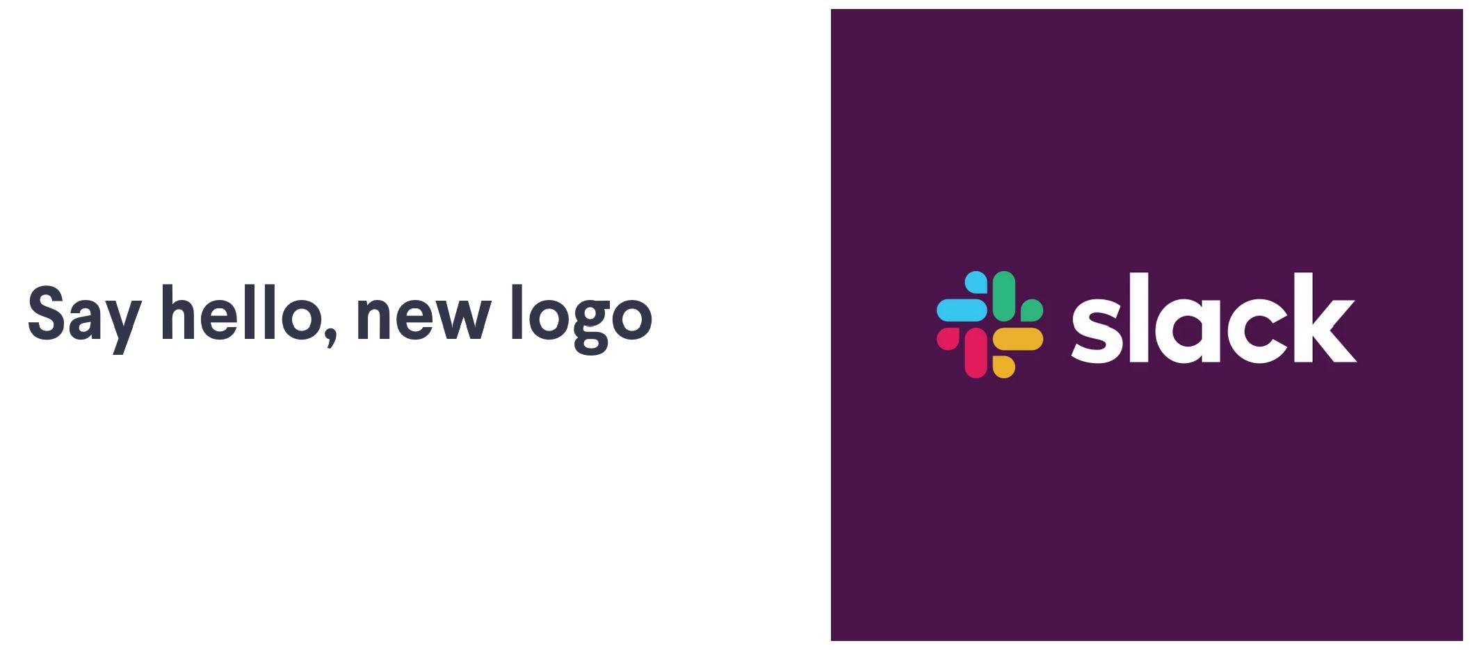 Slack nowe logo