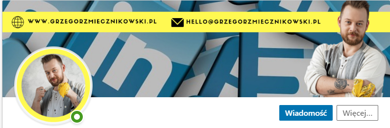 cover photo na linkedinie
